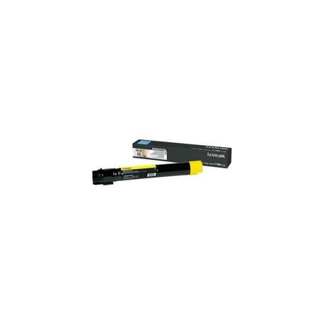 Lexmark X950X2YG Toner Yellow Extra High Yield