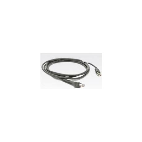 Zebra CBA-U46-S07ZAR USB Cable Serie A, 2m