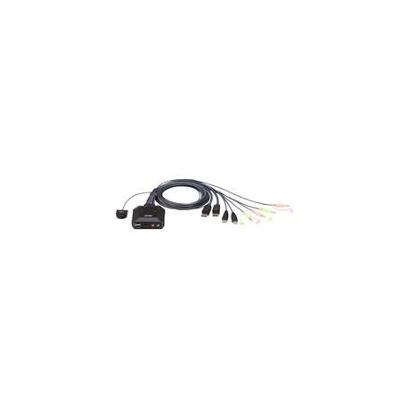 Aten CS22DP-AT 2-Port USBDisplayPort Cable