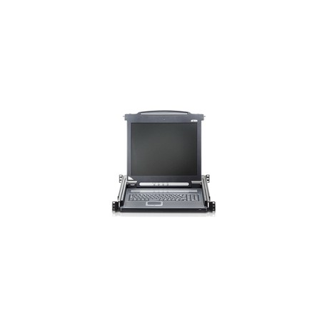 Aten CL1000M-ATA-2XK06DNG Slideaway console 17 LCD