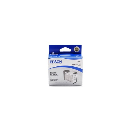 Epson C13T580700 Light Black Ink 80 ml
