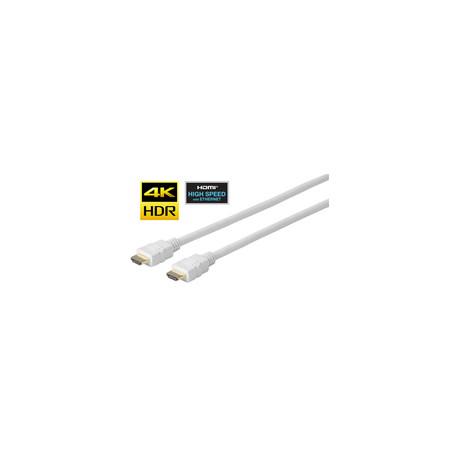 Vivolink Pro HDMI White Cable 5 Meter (PROHDMIHD5W)
