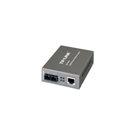 TP-Link Fibre RJ45 to 1Gbit SM SC,15km (MC210CS)