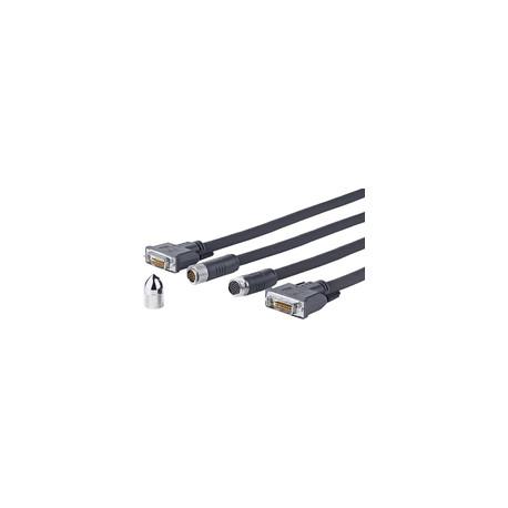 Vivolink Pro DVI-D Cross Wall cable 10M (PRODVICW10)