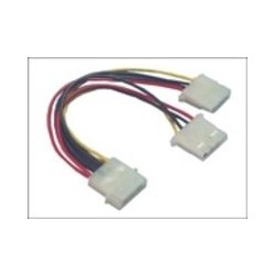 CABLE Y POWER 4PIN - 4PIN + 4PIN M/ F+F