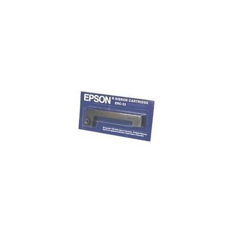 RUBAN NOIR ERC-22 REF. C43S015358 POUR EPSON MATRIX