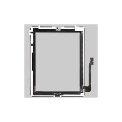 Vitre tactile assemblée iPad3 avec TouchPanel Noir