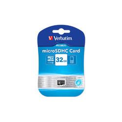 Verbatim 32 GB SD Micro (SDHC) Class 10 (44013)