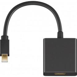 MicroConnect Mini Displayport-HDMI 1.2, M-F (MDPHDMIB)