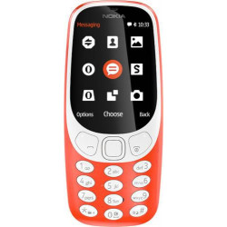 Nokia NOKIA 3310 DUAL SIM WARM RED (A00028117)