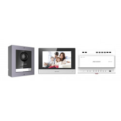 Hikvision IP video intercom kit for (DS-KIS702)