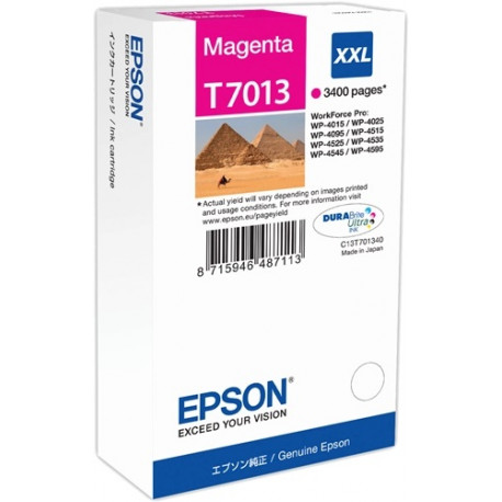 EPSON WP4000/4500 SERIES INK CART XXL MAGE (C13T70134010)